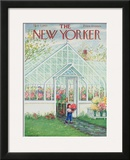 The New Yorker Cover - May 7, 1955 Framed Giclee Print by Edna Eicke