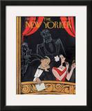 The New Yorker Cover - December 7, 1940 Framed Giclee Print by Rea Irvin