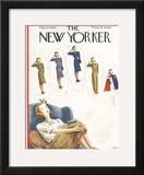 The New Yorker Cover - February 27, 1943 Framed Giclee Print by Constantin Alajalov