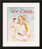 The New Yorker Cover - May 25, 1992 Framed Giclee Print by Susan Davis