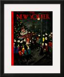 The New Yorker Cover - December 13, 1947 Framed Giclee Print by Christina Malman