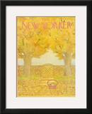 The New Yorker Cover - July 12, 1976 Framed Giclee Print by Jenni Oliver
