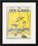 The New Yorker Cover - May 9, 1983 Framed Giclee Print by Eugène Mihaesco