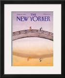 The New Yorker Cover - June 18, 1984 Framed Giclee Print by Susan Davis
