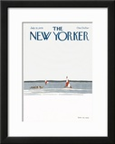 The New Yorker Cover - July 31, 1978 Framed Giclee Print by Gretchen Dow Simpson