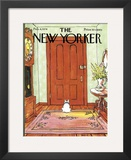 The New Yorker Cover - February 4, 1974 Framed Giclee Print by George Booth