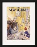 The New Yorker Cover - December 28, 1940 Framed Giclee Print by Perry Barlow