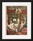 The New Yorker Cover - February 4, 1950 Framed Giclee Print by Mary Petty