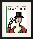 The New Yorker Cover - May 27, 2002 Framed Giclee Print by Christoph Niemann