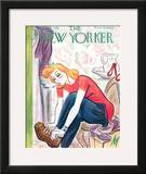 The New Yorker Cover - January 29, 1944 Framed Giclee Print by Julian de Miskey