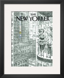 The New Yorker Cover - June 11, 2001 Framed Giclee Print by Peter de Sève