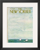 The New Yorker Cover - May 28, 1966 Framed Giclee Print by Abe Birnbaum