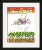 The New Yorker Cover - May 7, 1984 Framed Giclee Print by Joseph Low