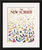 The New Yorker Cover - July 21, 1986 Framed Giclee Print by Andrej Czeczot