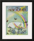The New Yorker Cover - June 17, 1967 Framed Giclee Print by Andre Francois