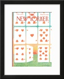 The New Yorker Cover - February 13, 1971 Framed Giclee Print by Andre Francois