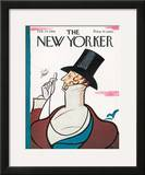 The New Yorker Cover - February 24, 1968 Framed Giclee Print by Rea Irvin