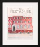 The New Yorker Cover - October 28, 1985 Framed Giclee Print by Susan Davis