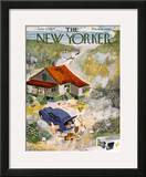 The New Yorker Cover - June 12, 1954 Framed Giclee Print by Roger Duvoisin