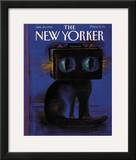 The New Yorker Cover - January 29, 1990 Framed Giclee Print by Andre Francois