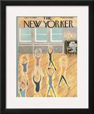 The New Yorker Cover - September 10, 1960 Framed Giclee Print by Ilonka Karasz