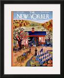 The New Yorker Cover - October 4, 1941 Framed Giclee Print by Ilonka Karasz
