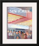 The New Yorker Cover - November 11, 1991 Framed Giclee Print by Susan Davis