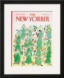 The New Yorker Cover - December 18, 1989 Framed Giclee Print by Susan Davis