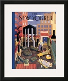 The New Yorker Cover - July 19, 1941 Framed Giclee Print by Ilonka Karasz