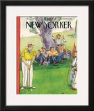 The New Yorker Cover - August 3, 1946 Framed Giclee Print by Perry Barlow