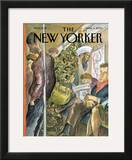 The New Yorker Cover - March 3, 2003 Framed Giclee Print by Edward Sorel