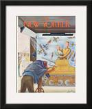 The New Yorker Cover - July 22, 1944 Framed Giclee Print by Constantin Alajalov