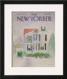 The New Yorker Cover - December 23, 1985 Framed Giclee Print by Susan Davis
