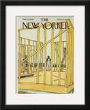The New Yorker Cover - March 22, 1969 Framed Giclee Print by James Stevenson