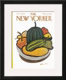 The New Yorker Cover - November 29, 1969 Framed Giclee Print by Abe Birnbaum