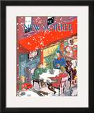The New Yorker Cover - January 17, 1994 Framed Giclee Print by Kathy Osborn