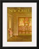 The New Yorker Cover - September 29, 1951 Framed Giclee Print by Edna Eicke
