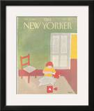 The New Yorker Cover - February 15, 1982 Framed Giclee Print by Heidi Goennel