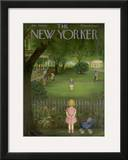 The New Yorker Cover - July 29, 1950 Framed Giclee Print by Edna Eicke