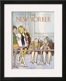 The New Yorker Cover - March 30, 1968 Framed Giclee Print by Charles Saxon