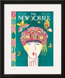 The New Yorker Cover - April 16, 1927 Framed Giclee Print by Ilonka Karasz