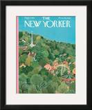 The New Yorker Cover - September 1, 1951 Framed Giclee Print by Ilonka Karasz