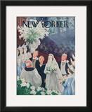 The New Yorker Cover - March 20, 1943 Framed Giclee Print by William Cotton