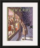 The New Yorker Cover - February 28, 1942 Framed Giclee Print by Peter Arno