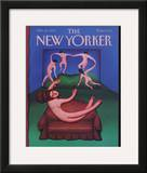 The New Yorker Cover - October 26, 1992 Framed Giclee Print by Andrea Arroyo