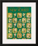 The New Yorker Cover - April 2, 1955 Framed Giclee Print by Rea Irvin