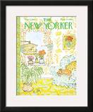 The New Yorker Cover - May 11, 1968 Framed Giclee Print by William Steig
