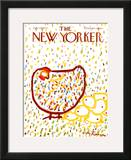 The New Yorker Cover - July 10, 1971 Framed Giclee Print by Andre Francois