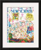 The New Yorker Cover - May 30, 1970 Framed Giclee Print by William Steig