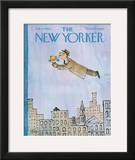 The New Yorker Cover - February 15, 1964 Framed Giclee Print by William Steig